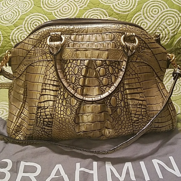 18a4c2244f6b81 Brahmin Handbags - Brahmin Louise Rose Dillards 75th Anniversary Ed.